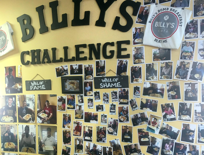 Billy's Challenge Wall of Fame